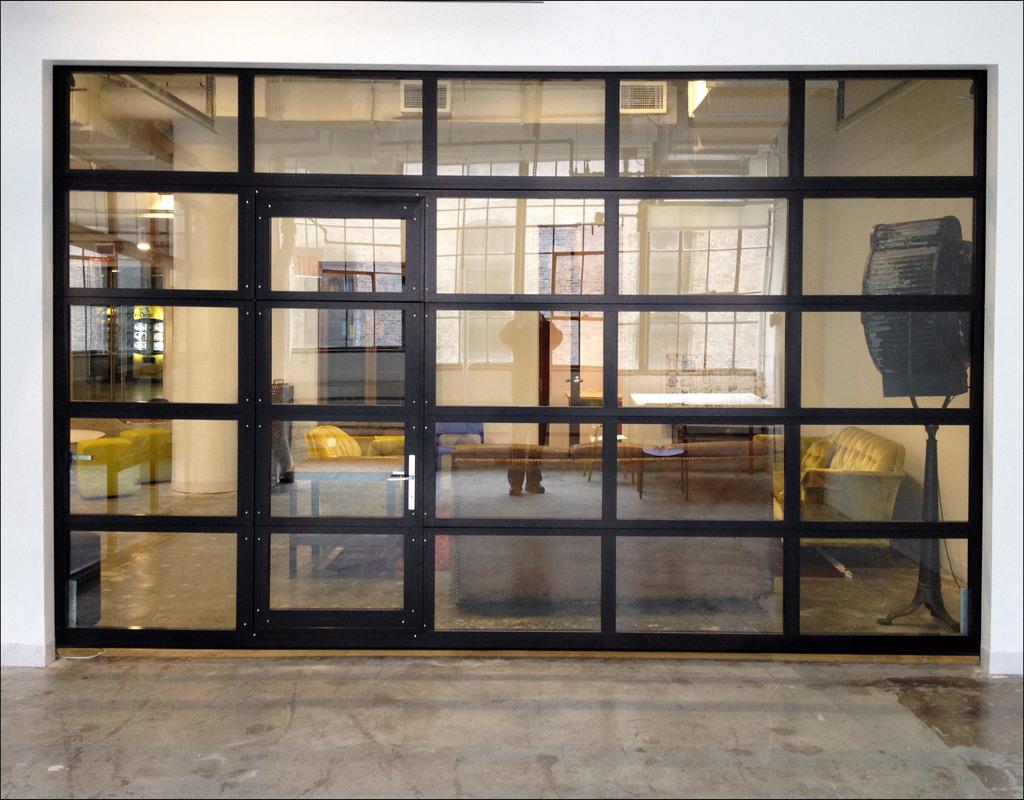 all-glass-garage-door All Glass Garage Door