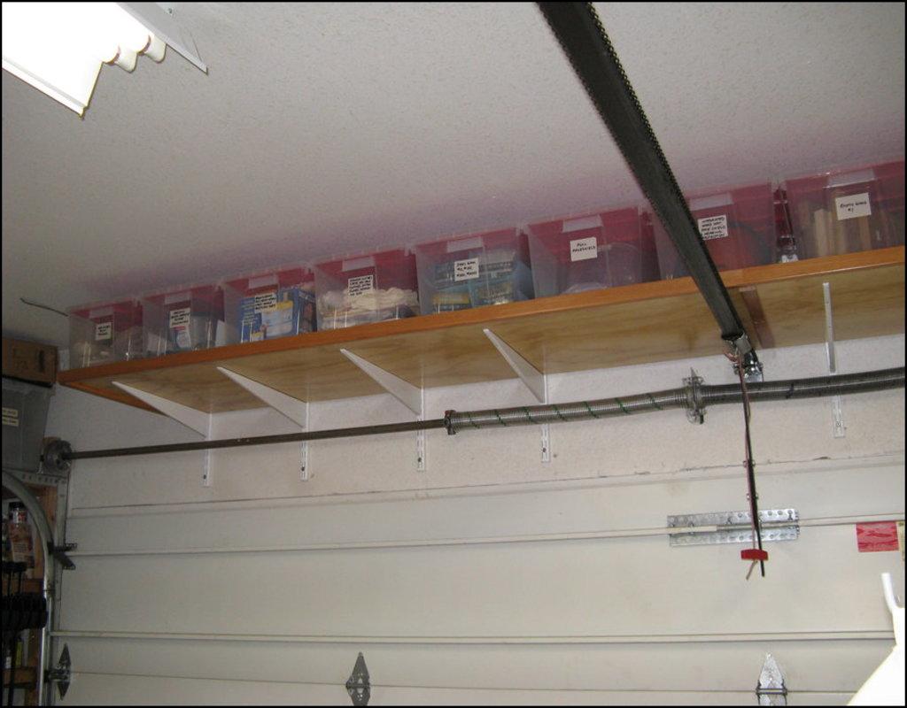 over-garage-door-storage Over Garage Door Storage