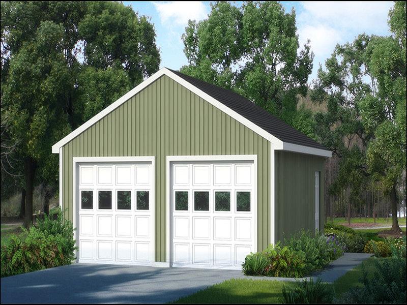 2-car-garage-kit 2 Car Garage Kit