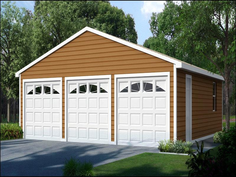 3-car-garage-kits 3 Car Garage Kits