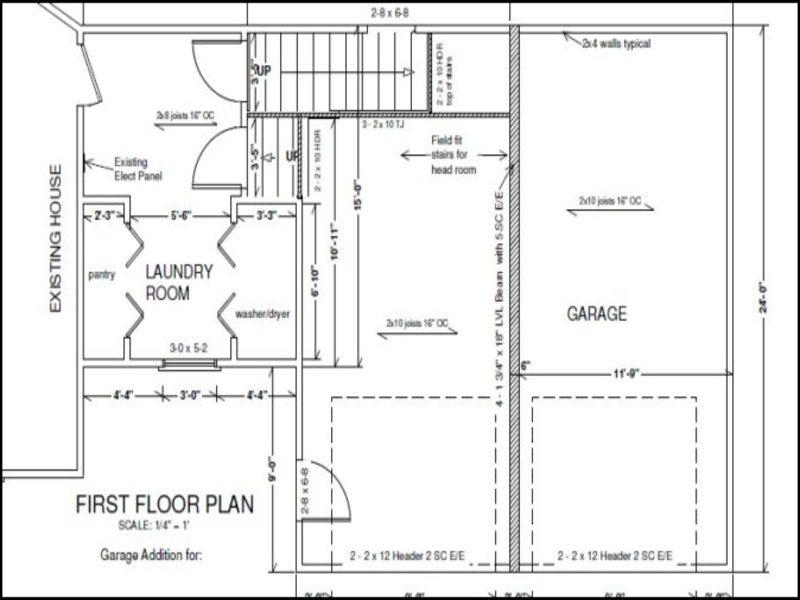 Attached Garage Addition Plans Garage Doors Repair – Attached Garage Addition Plans