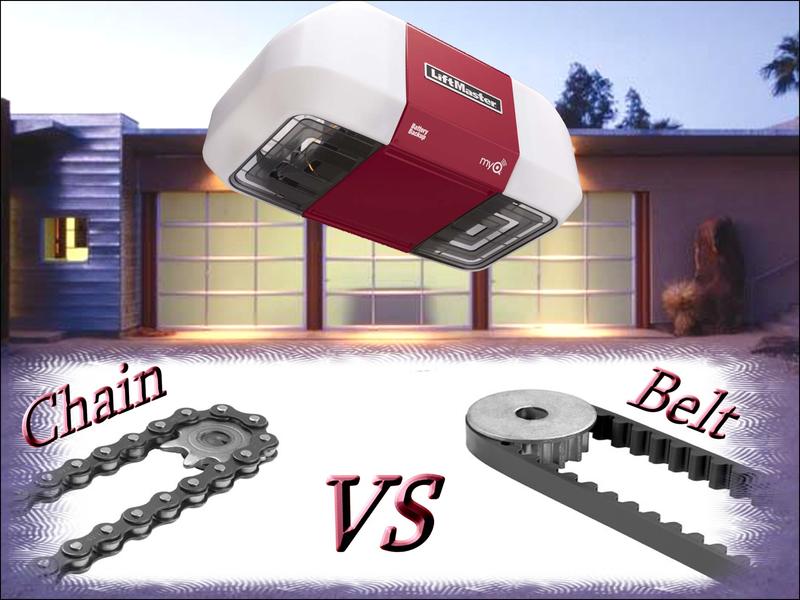 belt-vs-chain-garage-door-opener The Upside to Belt Vs Chain Garage Door Opener