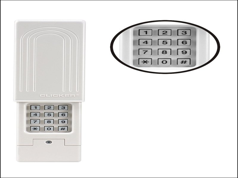 Chamberlain Clicker Universal Keyless Entry Garage Doors