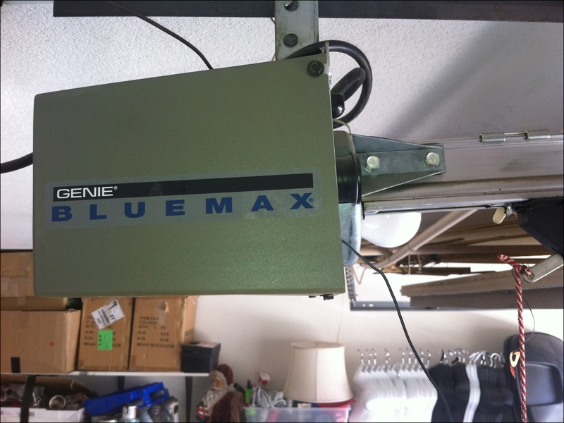 genie-blue-max-garage-door-opener Genie Blue Max Garage Door Opener