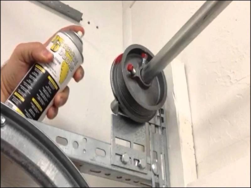 how-to-lubricate-garage-door How To Lubricate Garage Door