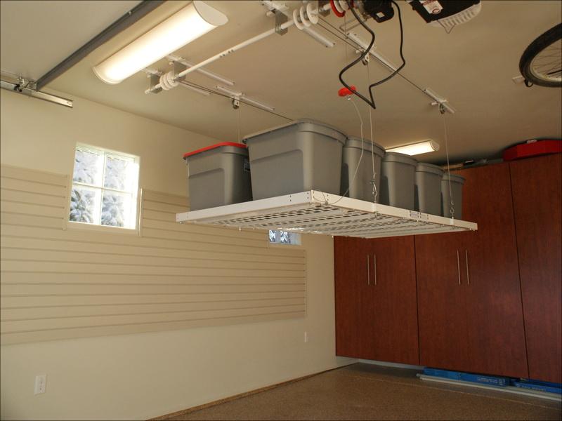 motorized-garage-storage-lift Motorized Garage Storage Lift