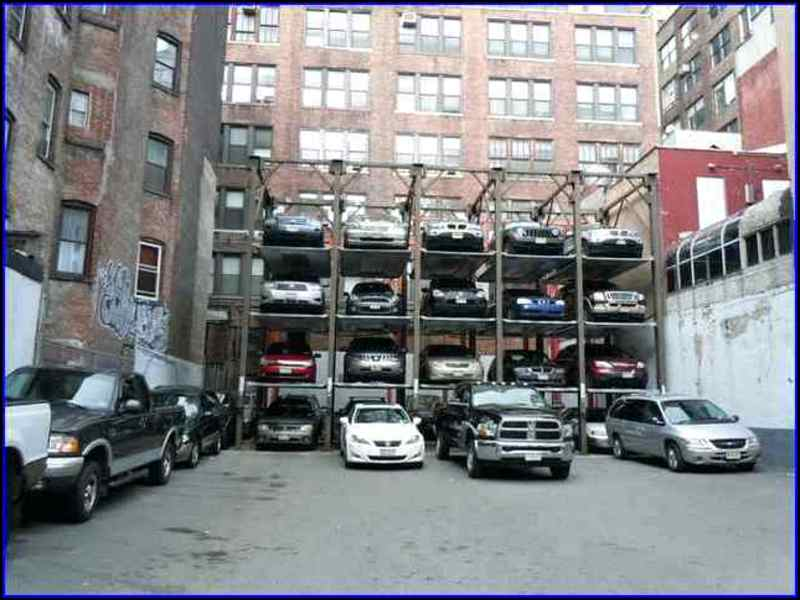 Parking Garage Near Times Square Garage Doors Repair