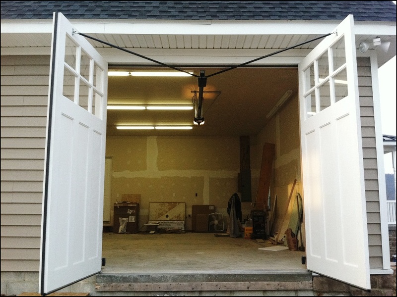 swing-open-garage-doors Swing Open Garage Doors