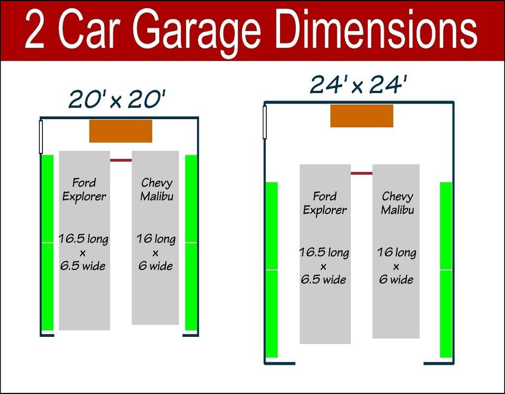 2-car-garage-door-size 2 Car Garage Door Size