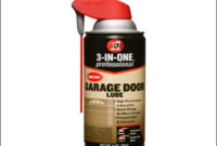 Best Lubricant For Garage Doors