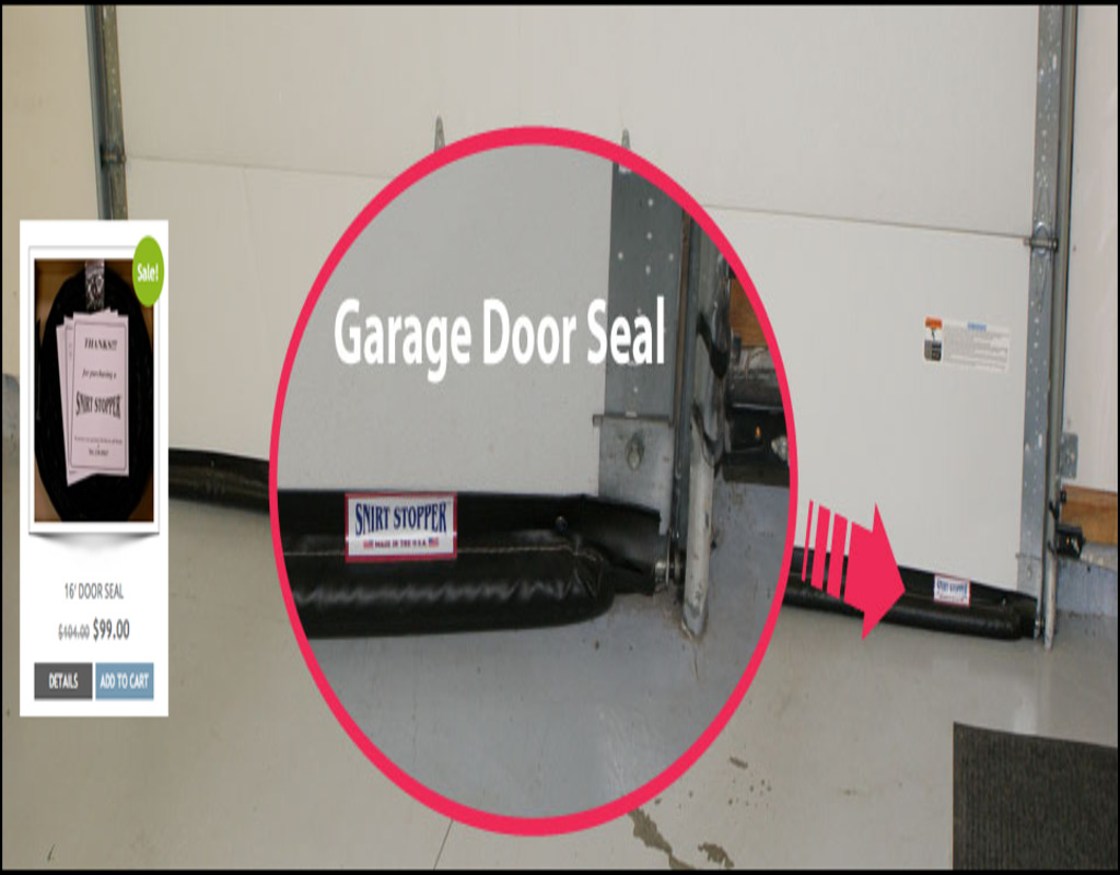 Overcoming Garage Door Bottom Seal For Uneven Floor
