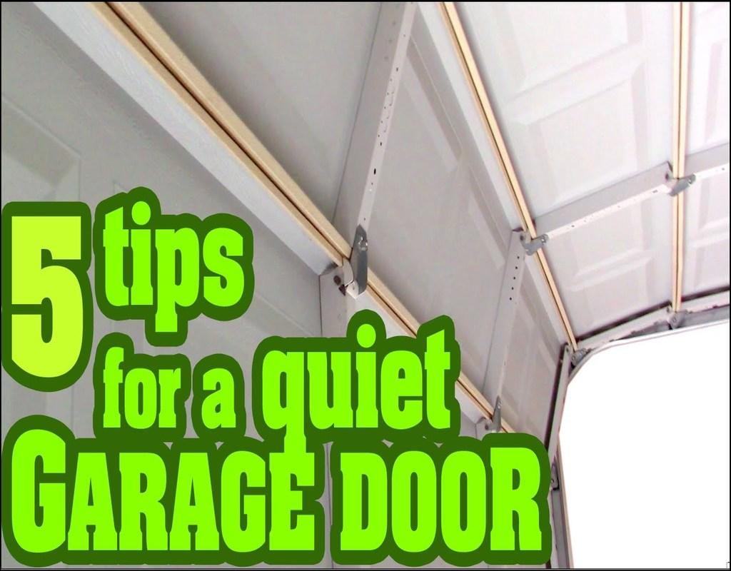 how-to-make-garage-door-quieter How To Make Garage Door Quieter