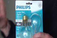 Light Bulb For Garage Door Opener