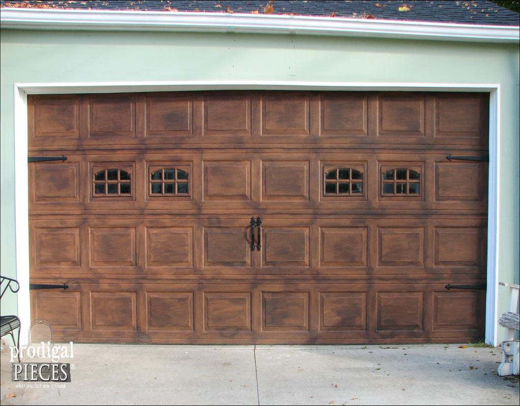 paint-garage-door-to-look-like-wood Paint Garage Door To Look Like Wood