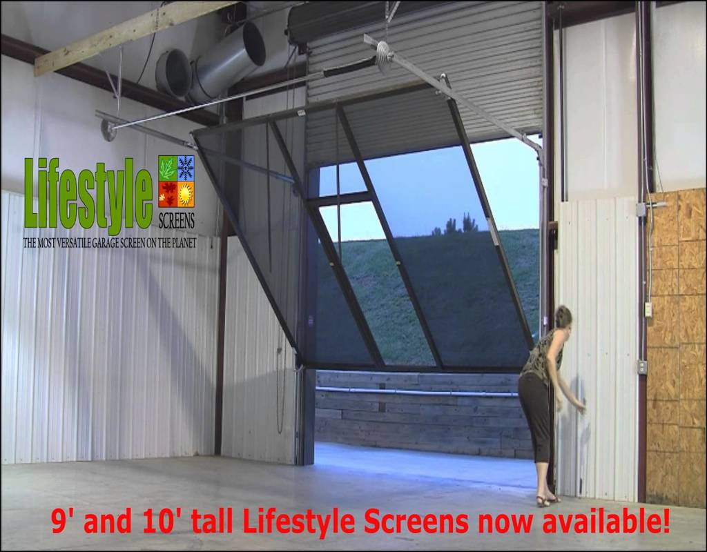 pull-down-screen-for-garage-door Pull Down Screen For Garage Door