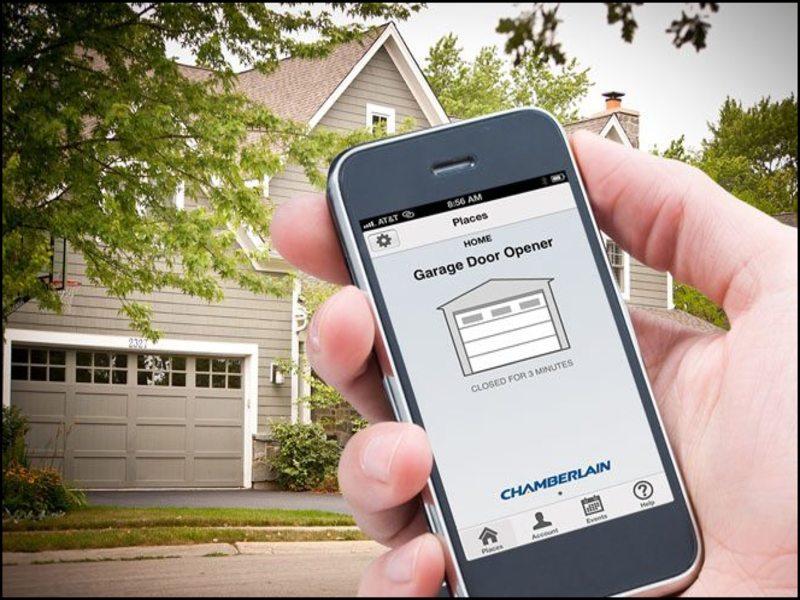 cell-phone-garage-door-opener Cell Phone Garage Door Opener