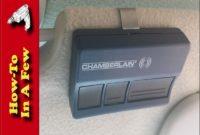 Chamberlain Garage Door Opener Remote Battery