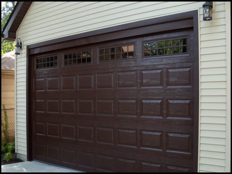 dark-brown-garage-doors Dark Brown Garage Doors