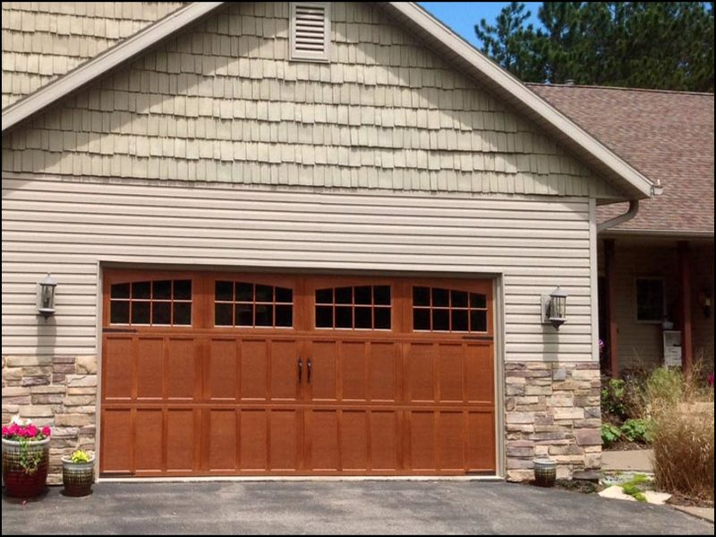double-wide-garage-door Double Wide Garage Door
