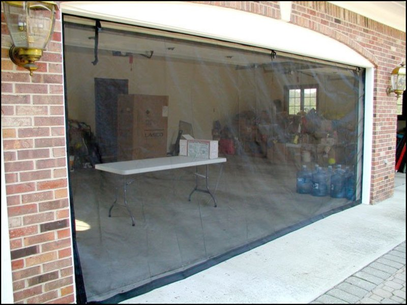garage-door-mosquito-net Garage Door Mosquito Net