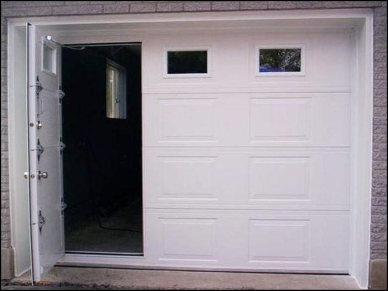 garage-doors-with-man-door Garage Doors With Man Door