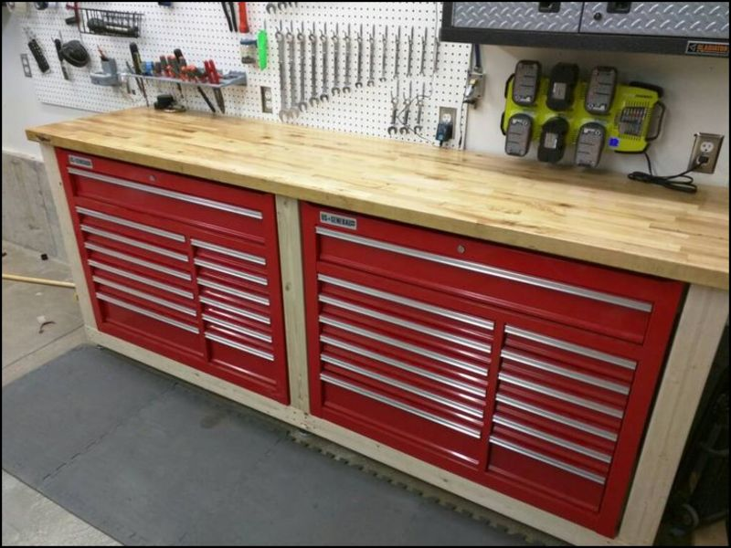garage-work-bench-ideas Garage Work Bench Ideas