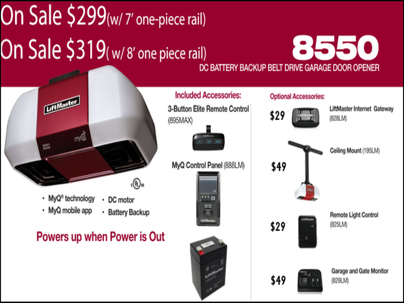 Liftmaster 8550 Garage Door Opener Garage Doors Repair