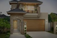 Narrow Lot House Plans With Front Garage