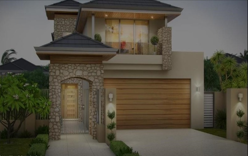 narrow-lot-house-plans-with-front-garage Narrow Lot House Plans With Front Garage