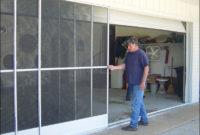 Sliding Garage Door Screens