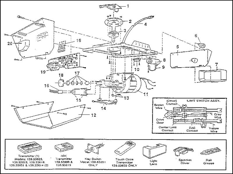 stanley-garage-door-opener-parts Stanley Garage Door Opener Parts