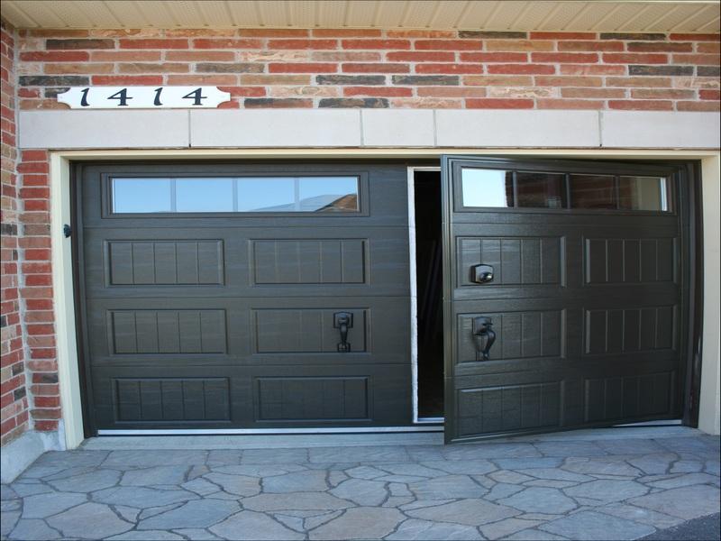 walk-through-garage-door Walk Through Garage Door