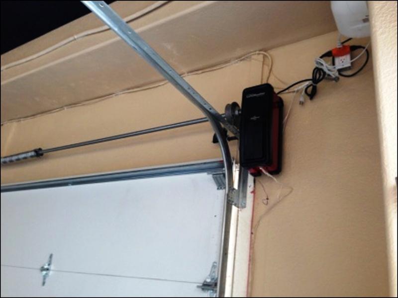 wall-mounted-garage-door-opener Wall Mounted Garage Door Opener