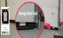 Garage Door Bottom Seal For Uneven Floor
