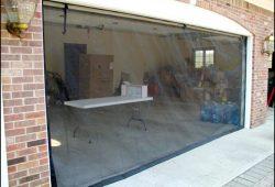 Garage Door Mosquito Net
