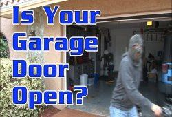 Garage Door Open Alert