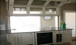 Garage Door Style Windows