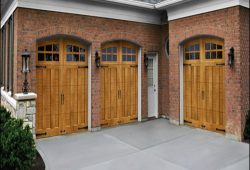 Wood Looking Garage Doors